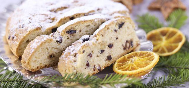 Traditionelles Weihnachtsgebäck.Stollen Backen Rezept Und Tipps Für Das Traditionelle