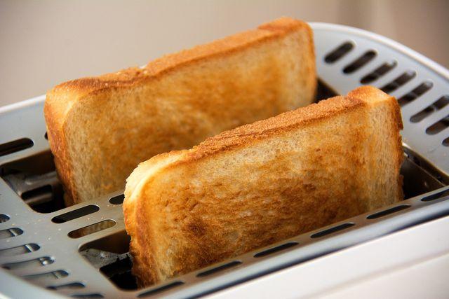 Weißer Toast mach satt – aber nur kurz.