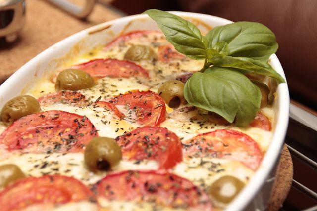 Ein mediterraner Brotauflauf – wenig Arbeit, viel Geschmack.