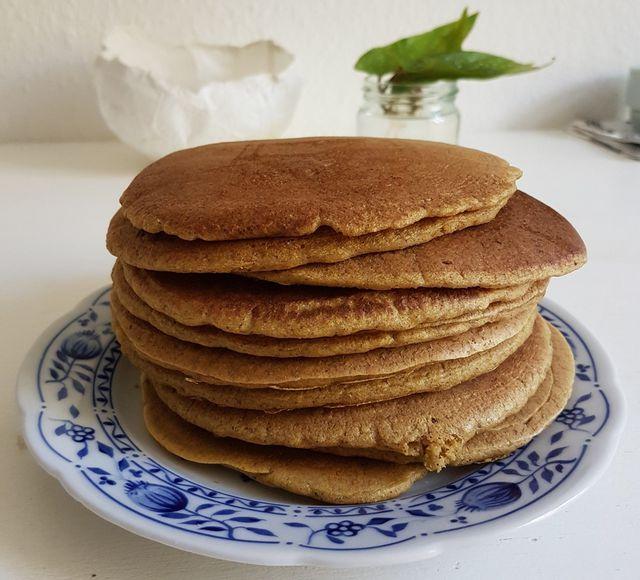 Pfannkuchen aus Buchweizenmehl – herrlich fluffig!