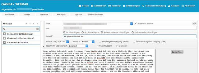 62af3a3f6ba9 Alternative E-Mail-Adresse: die Anbieter Mailbox.org, Posteo.de sind ...