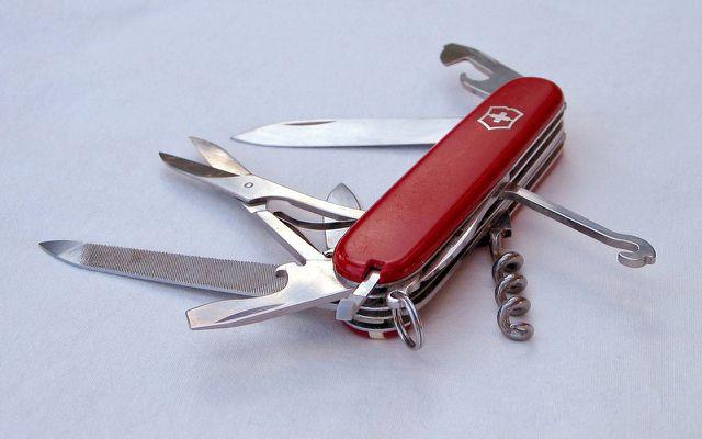 Dinge, die ewig halten: Schweizer Taschenmesser