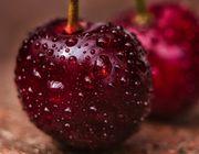 Obst aufpeppen Kirschen