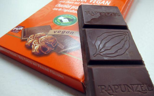 vegane Schokolade im Test, Rapunzel