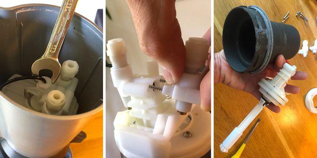 Sodastream reparieren: Sieht komplizierter aus, als es ist.