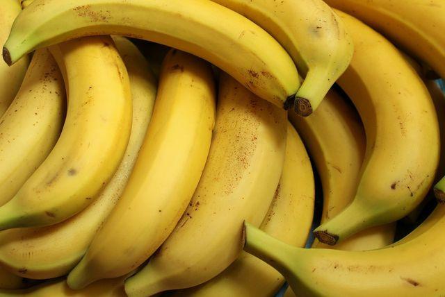 Bananen enthalten von Natur aus einen hohen Anteil an resistenter Stärke.