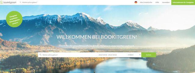 Grüne Öko-Reiseportale Bookitgreen