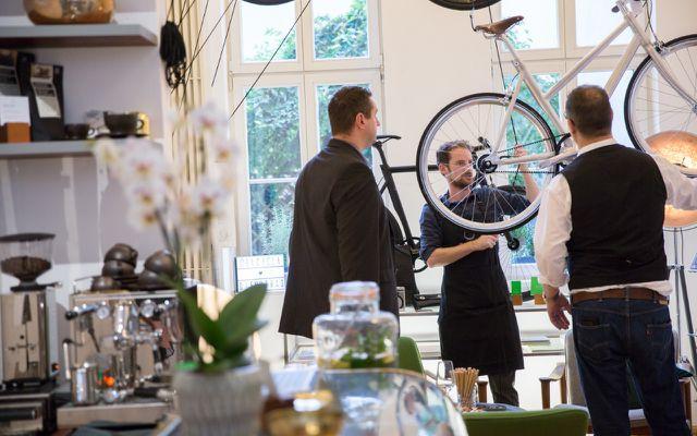Bicicli Dienstrad Jobrad Leasing Fahrrad Beratung im Berliner Showroom