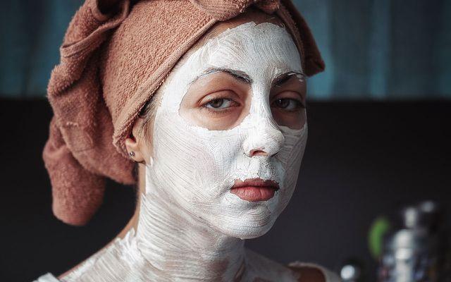 Gesichtspflege Fehler Gesichtsmaske
