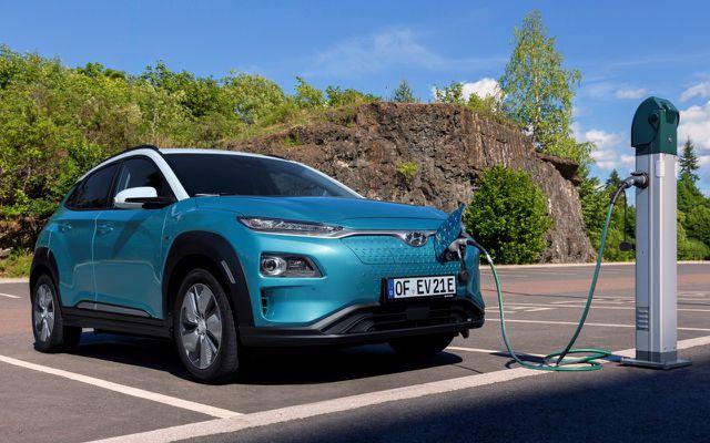 Elektroauto mit 482 Kilometer Reichweite: Hyundai Kona Elektro