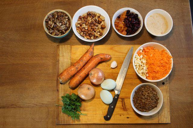 Maronen und Nüsse passen geschmacklich perfekt zusammen.