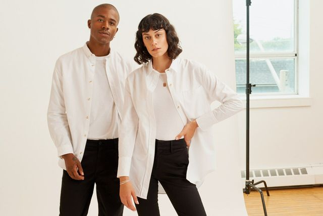 Kotn offers stylish basics made from Egyptian cotton.