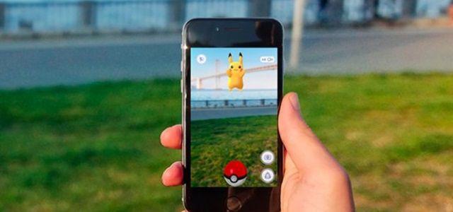 Pokemón Go auf dem Handy