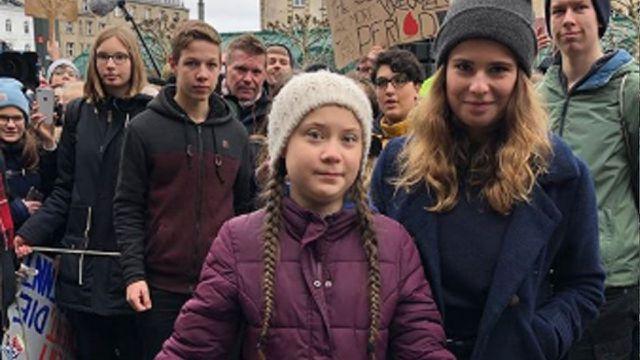 Hamburg Greta Thunberg Fridays for future