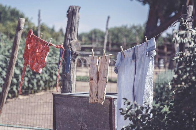 Wäsche einfach an der Luft trocknen lassen