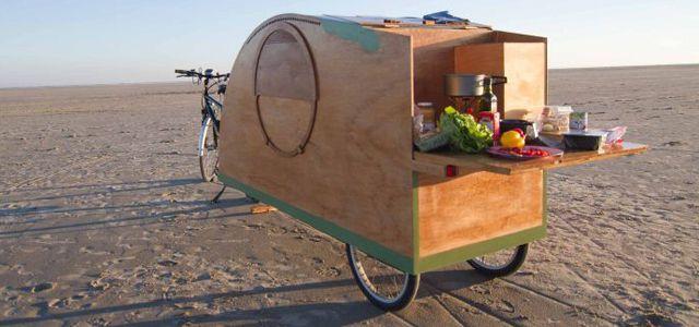 Fahrrad Wohnwagen Mobile Minihäuser Kaufen Oder Nachbauen
