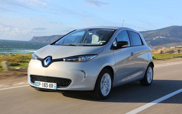 Der Zoe von Renault