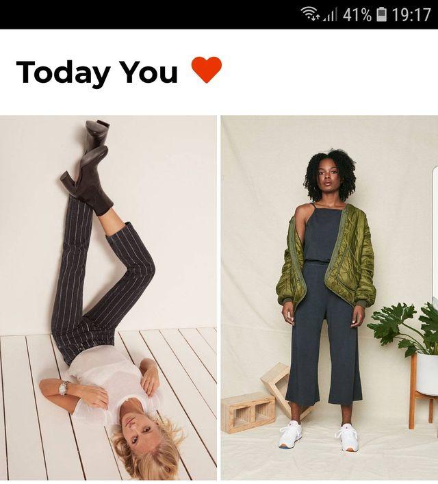 Shopping-App Faer: Personalisierte Stil-Vorschläge