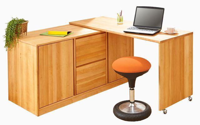 Home-Office-Möbel: Schreibtisch-Kommode von Waschbär