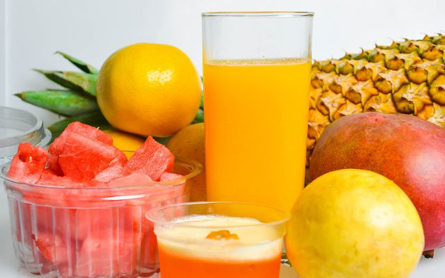 Natural Juice fruits smoothie