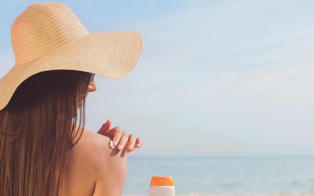 Wearing (physical) sunscreen is a must.