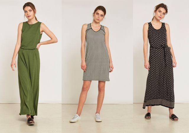Faire, vegane, nachhaltige Sommerkleider von Lanius