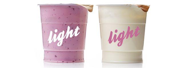light yogurt