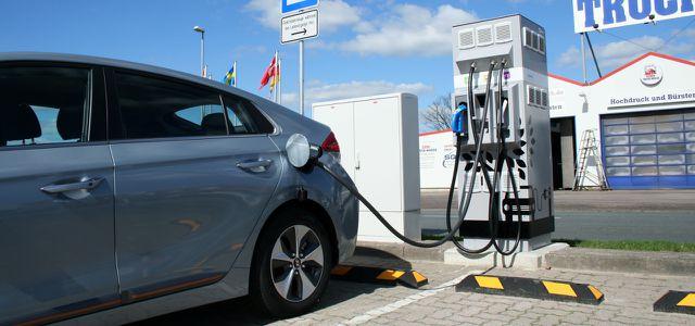 Eine Stärke des Ioniq electric ist die schnelle Gleichstrom-Ladefähigkeit (DC)