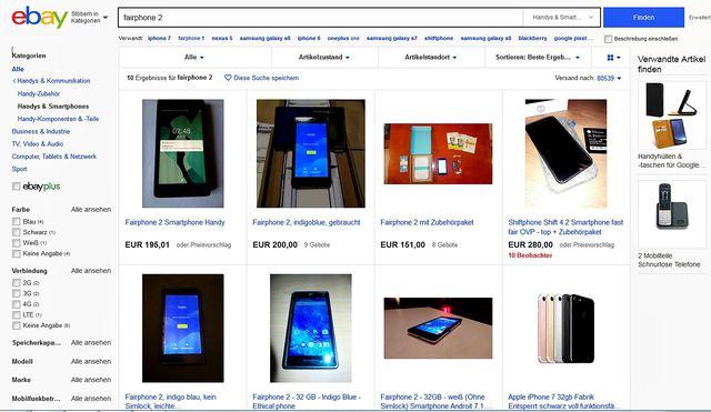 Fairphone 2 gebraucht kaufen