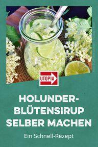 Holunderblütensirup selber machen: Ein Schnell-Rezept