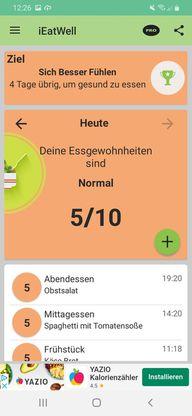 Die IEatWell-App