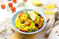 Die Blätter des Currykrauts geben besonders Pfannengerichten eine exotische Note.