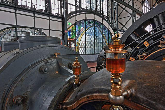 Viele Industriehallen sind heute Museen.
