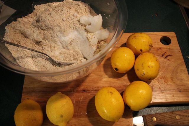 Veganer Zitronenkuchen Saftige Rezept Variation Ohne Eier Und Milch
