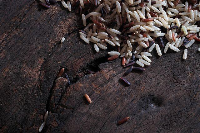 Mit anderen Reissorten gemischt verkürzt sich die Garzeit von Wildreis