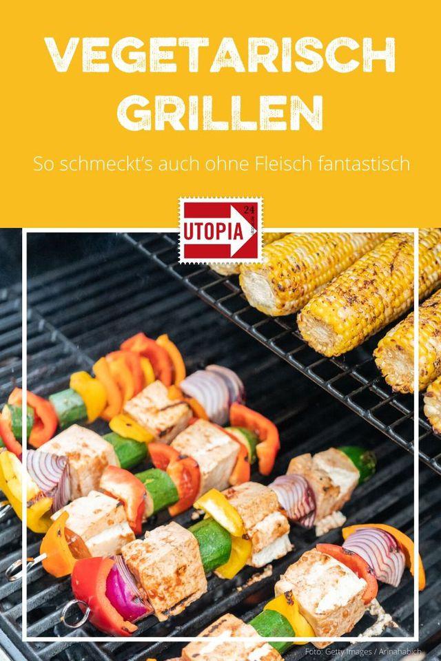 Vegetarisch grillen: So schmeckt's auch ohne Fleisch fantastisch