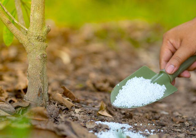 Urea wird auch als Dünger in der Landwirtschaft verwendet.