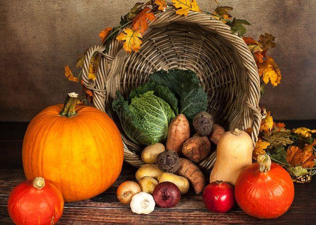 Kartoffeln, Kürbisse und Kohl enthalten besonders viele Ballaststoffe.