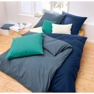 Die Größen der Kopfkissen- und Bettdeckenbezüge lassen sich individuell kombinieren.