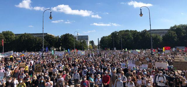 Klimastreik in München 2021