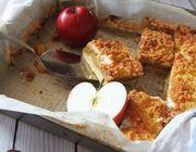 Vegan apple pie crumble recipe