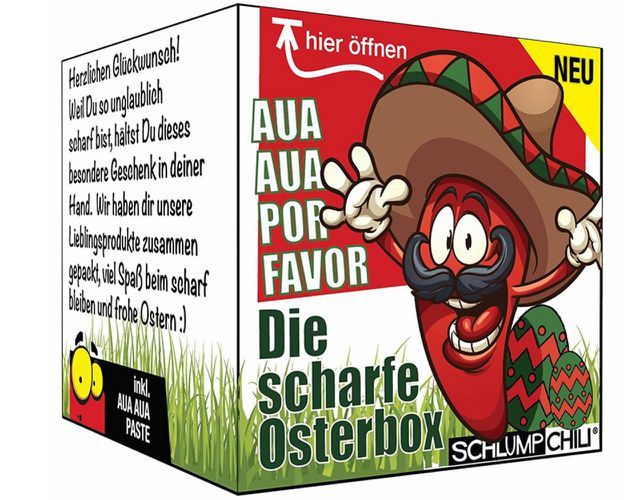 Die scharfe Osterbox