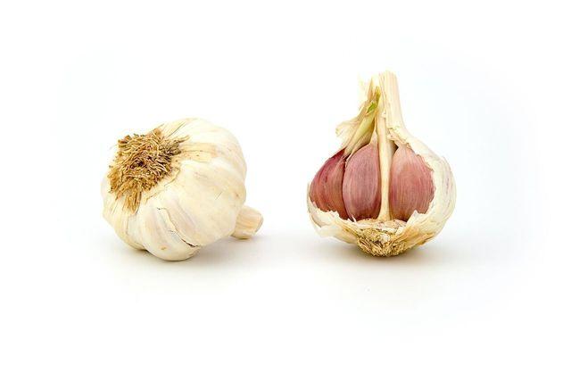Knoblauch wird noch aromatischer, wenn er nach der Ernte ein paar Tage nachreift.