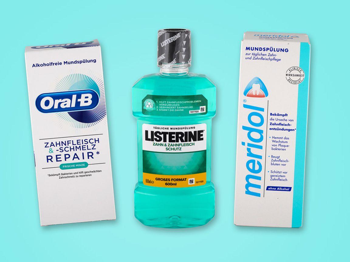 Alkohol listerine ist in prozent wieviel Listerine Mundspülung