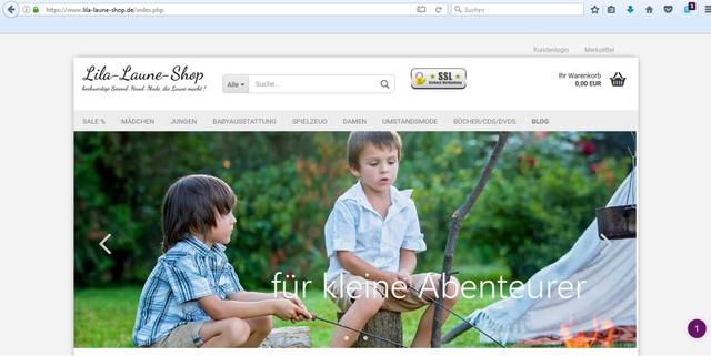 7875832345125f Der Lila-Laune-Shop verspricht hochwertige secondhand Kleidung für jeden  Anlass.