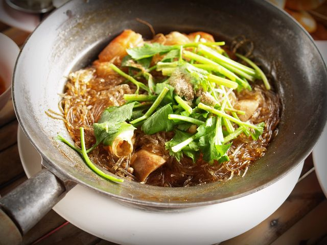 Zitronengras eignet sich gut für asiatische Gerichte.