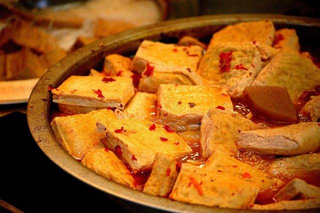 Richtig mariniert ist Tofu ein Gaumenschmaus.