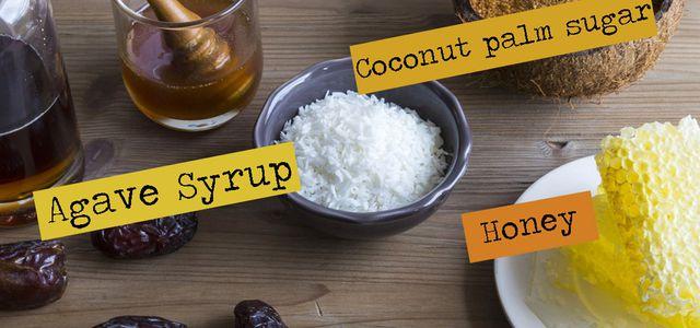 Sugar substitutes alternatives natural sweeteners