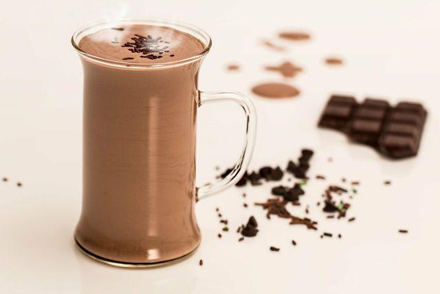 Heiße Schokolade ist eine besonders einfache Methode, Schokolade zu verwerten.