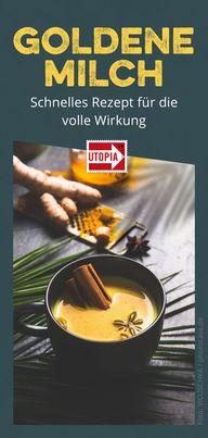 Goldene Milch - Kurkuma Latte - Rezept